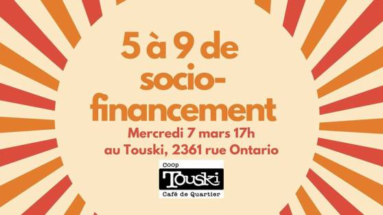 touski party financement 7 mars 2018