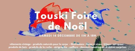 touski foire de noel 2019